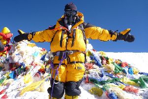 Mollie Hughes has summited Mount Everest twice
