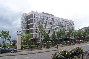 North Lanarkshire Council headquarters in Motherwell