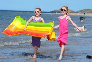 Scotland recorded its highest ever temperature last week. Picture: Ian Rutherford