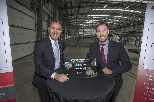 The Lanarkshire site was opened by Dwain McDonald and Neil Gray MP. Picture: Contributed