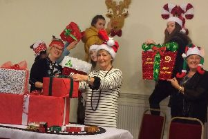 Clyde Valley Community Church start preparations for the Winter Wonderland