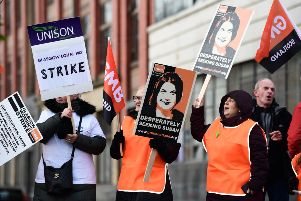 Council workers striked last year over equal pay, with further industrial action now possible after union bosses urged staff to reject the latest pay deal