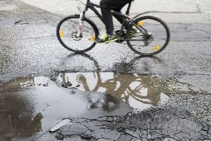 North Lanarkshire pothole repair times are slower than South Lanarkshire