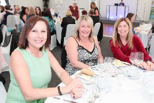Last year's Sparkle, Shine and Dine ladies' lunch raised �6000 for St Andrews and Strathcarron hospices