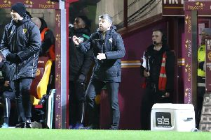 Stephen Robinsons formation change has inspired Motherwell to victories in their last four league matches (Pic by Ian McFadyen)