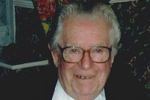 Blackpool hotelier Jim McLair, who was born in Newarthill.