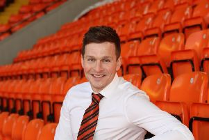 Andy Goldie, 33, Dundee Uniteds new academy director