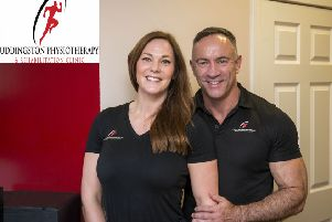 Uddingston Physiotherapy and Rehabilitation Clinic has been going from strength to strength since it was co-founded by Gillian and Ricky Flanagan in 2013. Pic: Brian McPhee