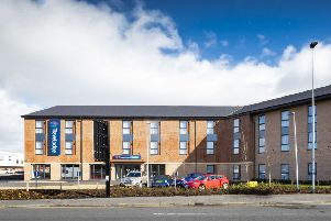 The �5 million Glasgow Govan Travelodge is the company's seventh venue in the city and has created 15 jobs. Picture: Roddy Scott.