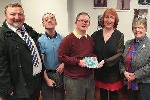 The Rt Rev Susan Brown visits Enable Scotland