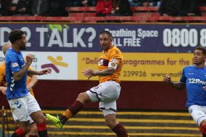 Motherwell and Rangers drew 3-3 at Fir Park last August (Pic by Ian McFadyen)
