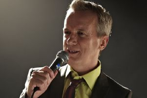 Comedian Frank Skinner is heading out on tour later this year, visiting Motherwell Concert Hall on Thursday, November 14.