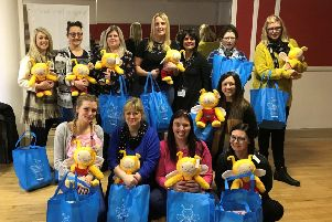 Group of Home-Start volunteers complete their Bookbug training