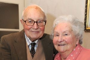 Sam and Anne Thurley were married for 67 years
