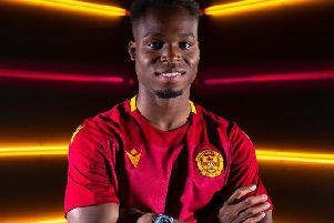 Sherwin Seedorf has signed two-year contract with Motherwell (Pic courtesy of Motherwell Football Club)