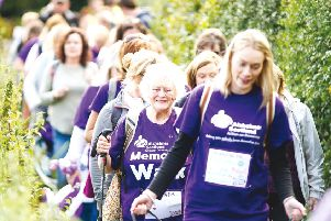 Memory Walk fundraising events will take place in 13 locations across the country (Photo: Ewan Bootman)