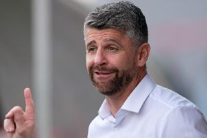 Motherwell FC manager Stephen Robinson