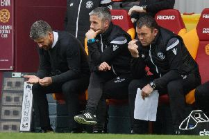 Motherwell manager Stephen Robinson (left) has been rocked by Darren O'Dea departure