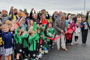 Groundbreaking  boost for grassroots sports in Birkenshaw