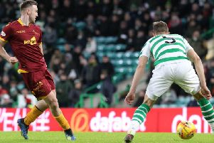 Celtic v Motherwell: Allan Campbell