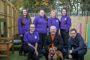 Sensory garden for dogs opens in Bothwell