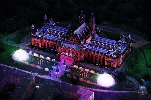 Kelvingrove Galllery will be transformed into a winter wonderland.