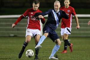 Action from Saturdays clash between Gala Fairydean Rovers and Caledonian Braves (Pic by Brian Sutherland)