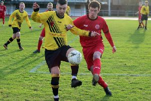 Action from Saturday's match (Pic by Brian Closs)