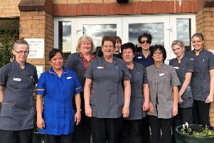 The staff at Hatton Lea Care Home in Bellshill were delighted with the contents of the Care Inspectorate report