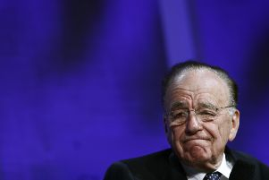 Rupert Murdoch sat in through part of a pre-arranged meeting at the Wall Street Journal attended by Nicola Sturgeon during her visit to the US, according to the SNP. Picture: Getty Images