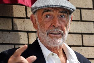 Sir Sean Connery has revealed he believes independence is inevitable. Picture: Jane Barlow