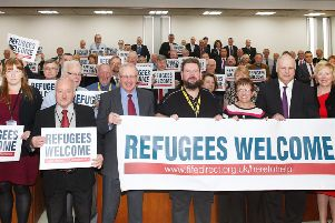 Fife councillors show their support for refugees