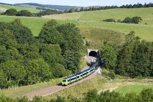 The Borders railway opened to the public in September. Picture: Ian Rutherford