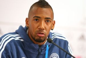 Jerome Boateng expects a noisy welcome at the Aviva Stadium in Dublin. Picture: Getty Images