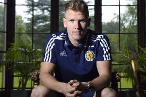 Scotland's Matt Ritchie scored in the friendly against Qatar but has yet to complete a full 90 minutes of competitive action. Picture: SNS Group