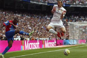 Gareth Bale is the only British player on the 23-man shortlist. Picture: AP