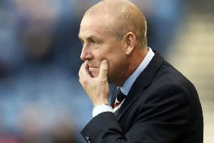 Rangers manager Mark Warburton says he is at Ibrox for the long haul. Picture: Danny Lawson/PA Wire.