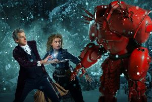 Dr Who. Picture: Ray Burmiston/Simon Ridgeway/BBC