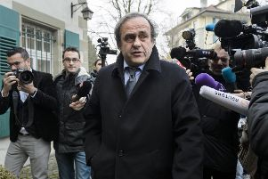 Michel Platini boycotted his own FIFA hearing. Picture: AFP/Getty Images
