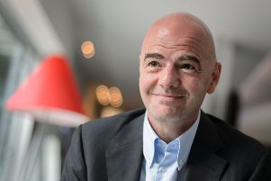 Fifa presidential candidate Gianni Infantino has the support of both the SFA and the FA. Picture: Fabrice Coffrini/AFP/Getty Images