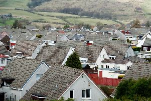 Airdrie, Lanark, Coatbridge and Kilmarnock are among the best value for homes in terms of size. Picture: John Devlin