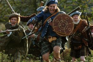 A devastating Highland charge swept away the Government forces at the 1689 Battle of Killiecrankie (Picture: Dan Phillips)
