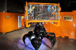 URS specialises in remote operated vehicles (ROVs). Picture: Contributed