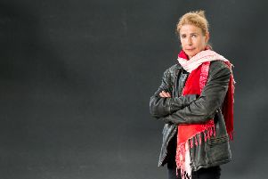 Lionel Shriver attends a photocall at Edinburgh International Book Festival Picture: Getty