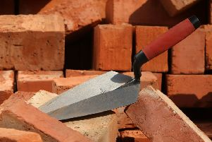 Scape Group said there was a shortage of skilled workers such as bricklayers. Picture: Christopher Furlong/Getty Images