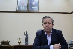 Syrian antiquities chief Maamoun Abdulkarim Picture: AFP