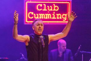 Club Cumming brought The Hub to life. Picture: Toby Williams