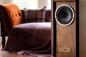 One of Tannoy's upmarket loudspeaker models