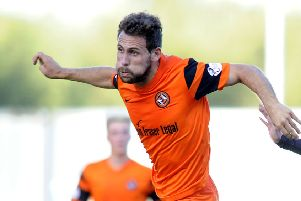 Tony Andreu's goal made the difference
