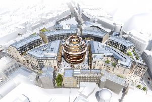 Work is finally to begin on St James Revamp. Picture; contributed